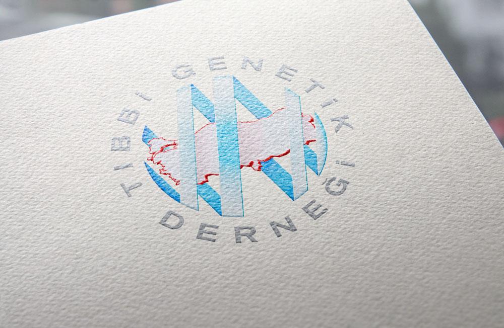 Tıbbi Genetik Derneği - Medical Genetic Association - Brand Identity by Aydın ÖZÖN
